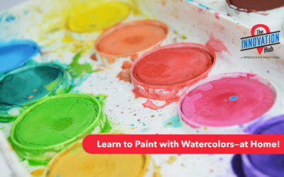 Learn to Paint with Watercolors at Home