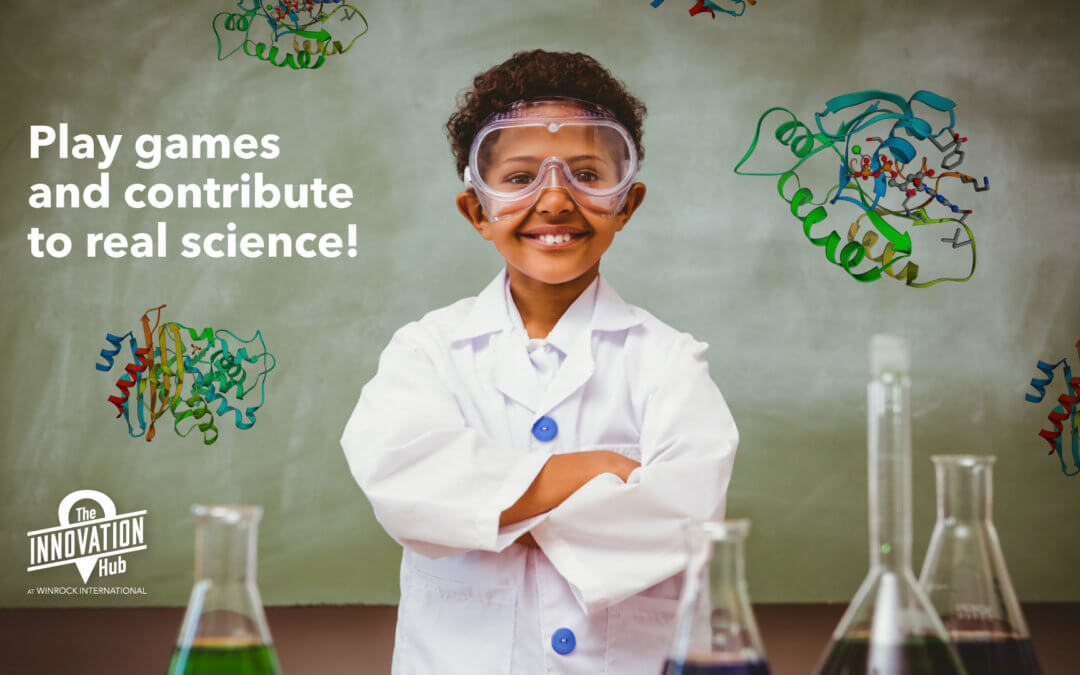 Play games and contribute to real science