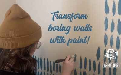 Transform your boring walls with a little paint!