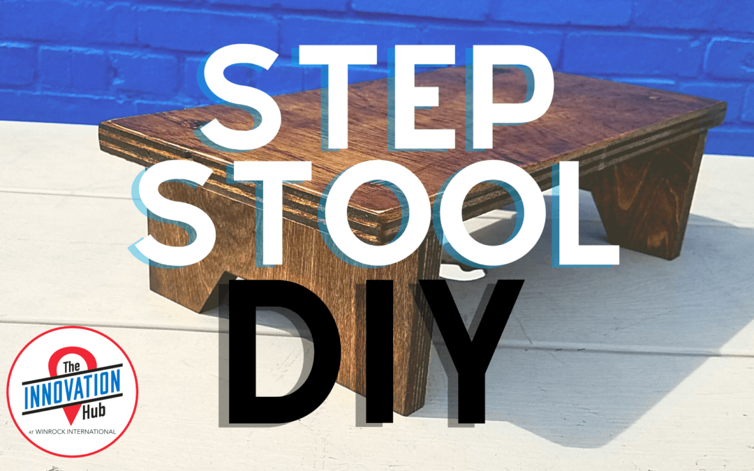 Wooden Step Stool DIY