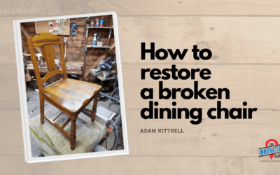 Restore a Broken Dining Chair
