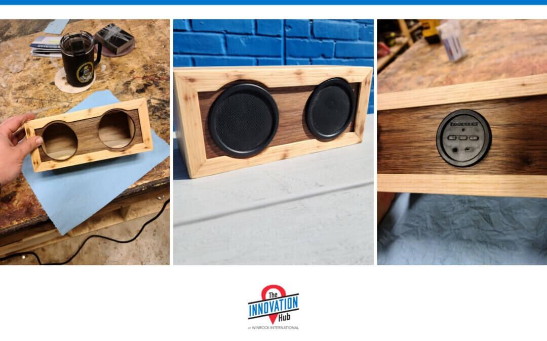 Building a box for Rockler's Bluetooth speaker kit
